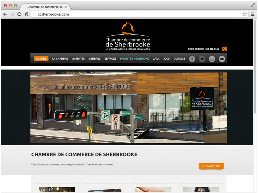 for Chambre de commerce de sherbrooke